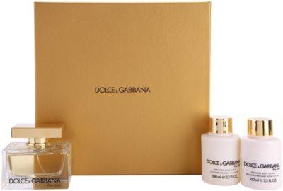 Dolce & Gabbana The One darčekové sady