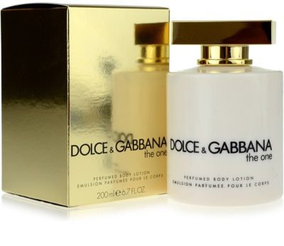 Dolce & Gabbana The One leite corporal para mulheres 1