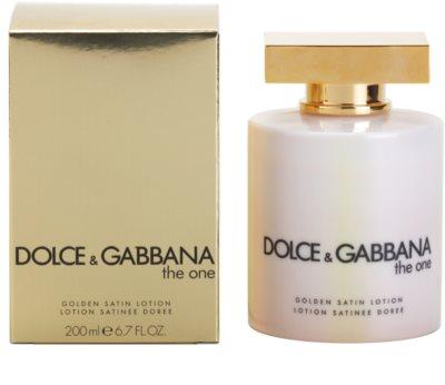 Dolce & Gabbana The One leite corporal para mulheres  (golden satin)