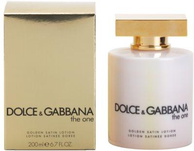 Dolce & Gabbana The One tělové mléko pro ženy  (golden satin)