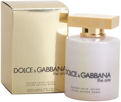 Dolce & Gabbana The One tělové mléko pro ženy  (golden satin) 1