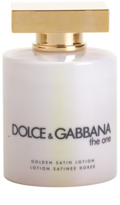 Dolce & Gabbana The One Body Lotion for Women  (Golden Satin) 2