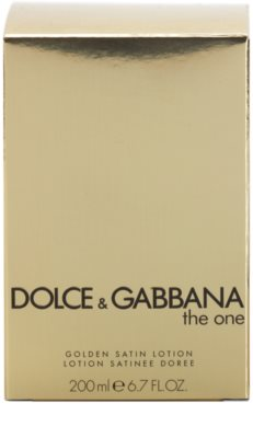 Dolce & Gabbana The One Body Lotion for Women  (Golden Satin) 3