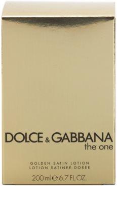 Dolce & Gabbana The One tělové mléko pro ženy  (golden satin) 3