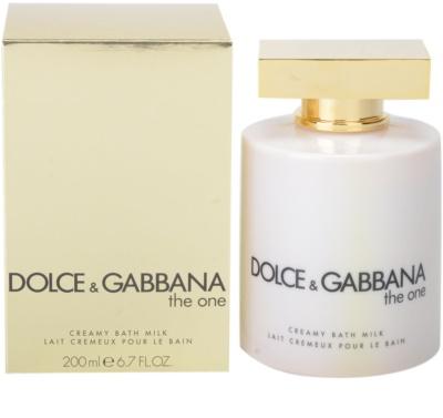 Dolce & Gabbana The One crema de ducha para mujer  (leche de baño)