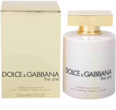 Dolce & Gabbana The One krema za prhanje za ženske  (mleko za kopel)