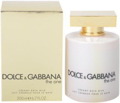 Dolce & Gabbana The One sprchový krém pro ženy  (mléko do koupele)