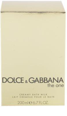 Dolce & Gabbana The One crema de ducha para mujer  (leche de baño) 2