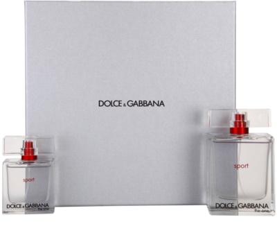 Dolce & Gabbana The One Sport for Men darilni seti