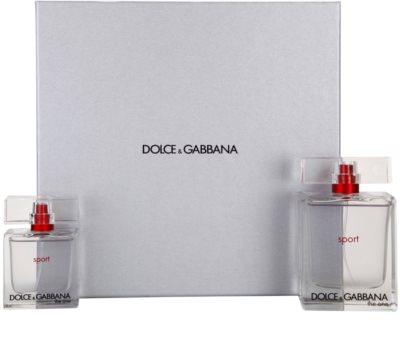Dolce & Gabbana The One Sport for Men lotes de regalo