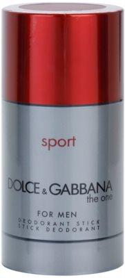 Dolce & Gabbana The One Sport for Men desodorante en barra para hombre  sin caja