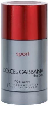 Dolce & Gabbana The One Sport for Men dezodorant w sztyfcie dla mężczyzn  bez pudełka