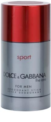 Dolce & Gabbana The One Sport for Men stift dezodor férfiaknak  doboz nélkül