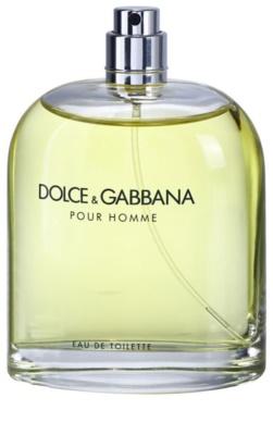 Dolce & Gabbana Pour Homme eau de toilette teszter férfiaknak
