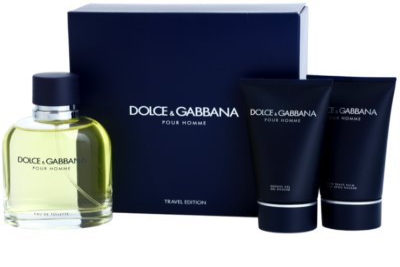 Dolce & Gabbana Pour Homme coffrets presente
