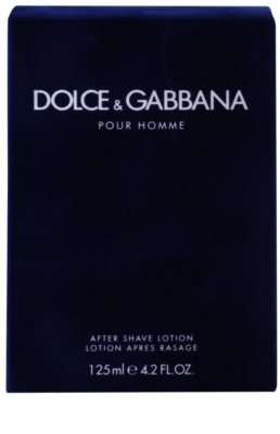 Dolce & Gabbana Pour Homme after shave para homens 3