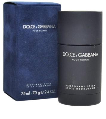Dolce & Gabbana Pour Homme дезодорант-стік для чоловіків