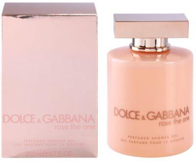 Dolce & Gabbana Rose The One gel de ducha para mujer