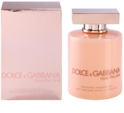 Dolce & Gabbana Rose The One sprchový gel pro ženy