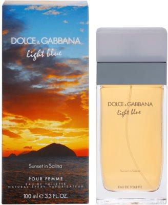 Dolce & Gabbana Light Blue Sunset in Salina eau de toilette para mujer