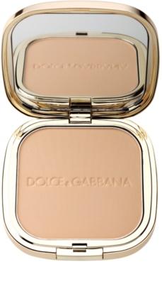 Dolce & Gabbana The Powder puder w kompakcie z pędzelkiem