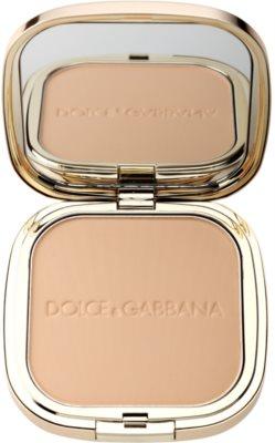 Dolce & Gabbana The Powder компактна пудра зі щіточкою
