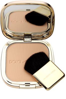 Dolce & Gabbana The Powder kompakt púder ecsettel 1