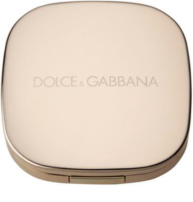 Dolce & Gabbana The Powder kompakt púder ecsettel 2