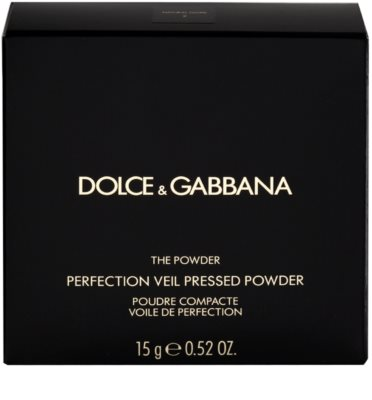 Dolce & Gabbana The Powder kompakt púder ecsettel 4