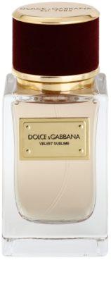 Dolce & Gabbana Velvet Sublime eau de parfum teszter unisex