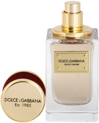 Dolce & Gabbana Velvet Sublime eau de parfum teszter unisex 1