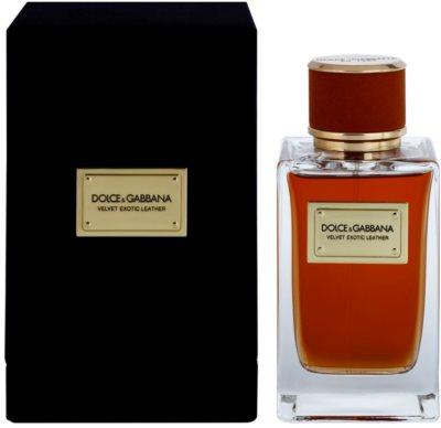 Dolce & Gabbana Velvet Exotic Leather eau de parfum férfiaknak