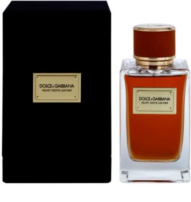 Dolce & Gabbana Velvet Exotic Leather Eau de Parfum para homens