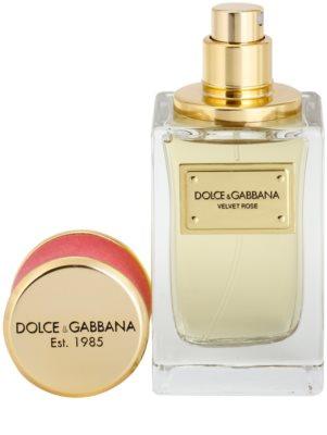 Dolce & Gabbana Velvet Rose eau de parfum teszter nőknek 1