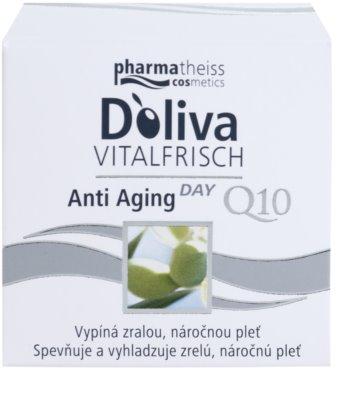 Doliva Vitalfrisch Q10 denní krém proti stárnutí pleti 2