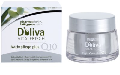 Doliva Vitalfrisch Q10 crema de noche para regenerar la piel 1