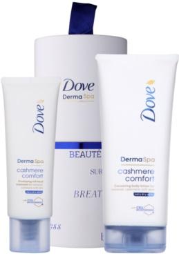 Dove DermaSpa Cashmere Comfort козметичен пакет  I.