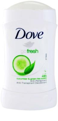 Dove Go Fresh Fresh Touch antitranspirantes 1