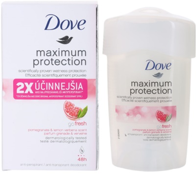 Dove Go Fresh Maximum Protection kremasti antiperspirant 48 ur 1