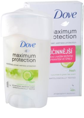 Dove Go Fresh Maximum Protection antitranspirante cremoso 48 h 2