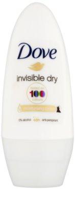 Dove Invisible Dry antiperspirant roll-on proti bielym škvrnám 48h