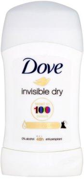 Dove Invisible Dry tuhý antiperspirant proti bielym škvrnám 48h