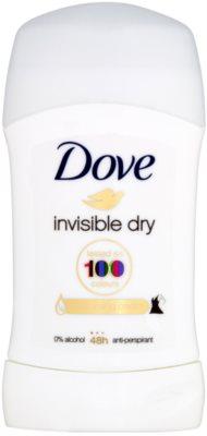Dove Invisible Dry tuhý antiperspirant proti bílým skvrnám 48h