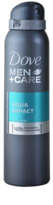 Dove Men+Care Aqua Impact дезодорант-антиперспірант спрей 48 годин