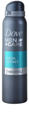 Dove Men+Care Aqua Impact desodorizante antitranspirante em spray 48 h