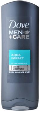 Dove Men+Care Aqua Impact gel de duche
