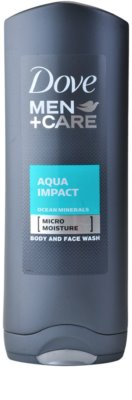 Dove Men+Care Aqua Impact gel de dus