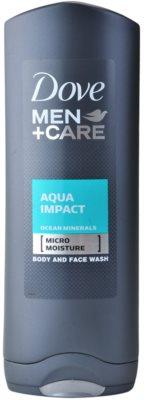 Dove Men+Care Aqua Impact tusfürdő gél