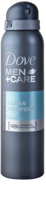 Dove Men+Care Clean Comfort desodorizante antitranspirante em spray 48 h