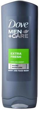 Dove Men+Care Extra Fresh sprchový gél na telo a tvár
